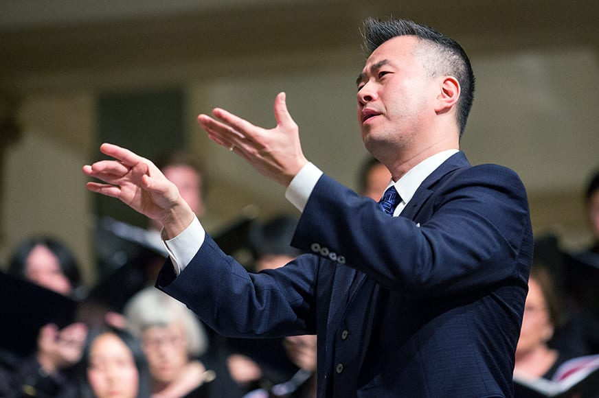 LMU Gala Christmas Concert 2019 5853 3 - Q&A with New Director of Choral Activities T.J. Harper
