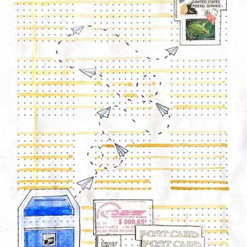 2D Design Sarah Jones - Studio Arts Featured Student Work, Fall 2020