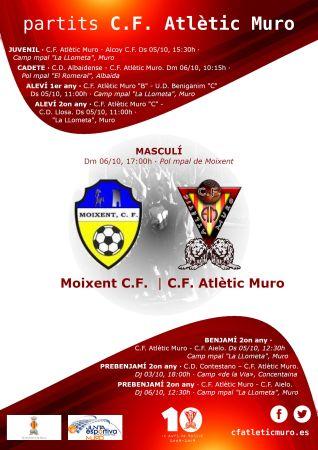 Read more about the article Partit davant el Moixent C.F.
