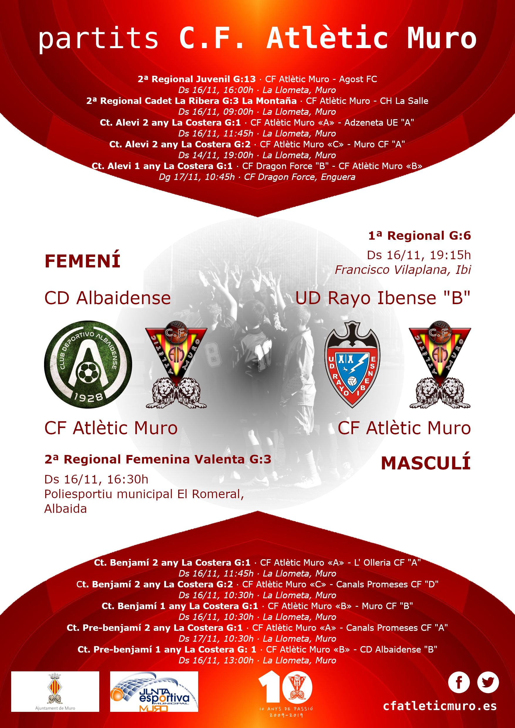 """You are currently viewing Partits davant el CD Albaidense i l'UD Rayo Ibense """"B"""""""
