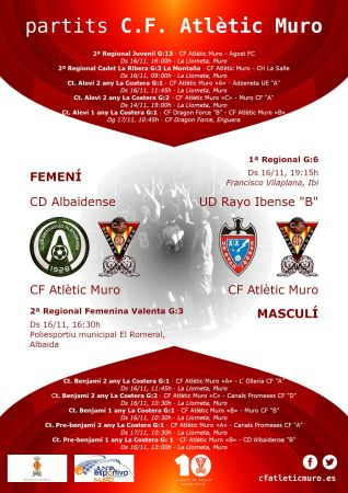 "Read more about the article Partits davant el CD Albaidense i l'UD Rayo Ibense ""B"""