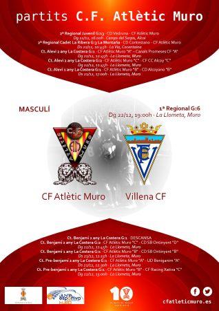 Read more about the article Partit davant el Villena CF