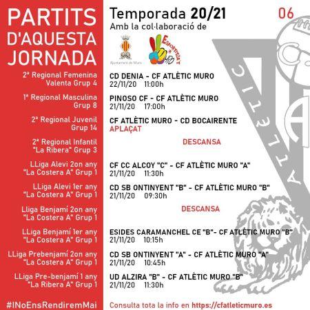 Read more about the article Partits davant el CD Denia i el Pinoso CF