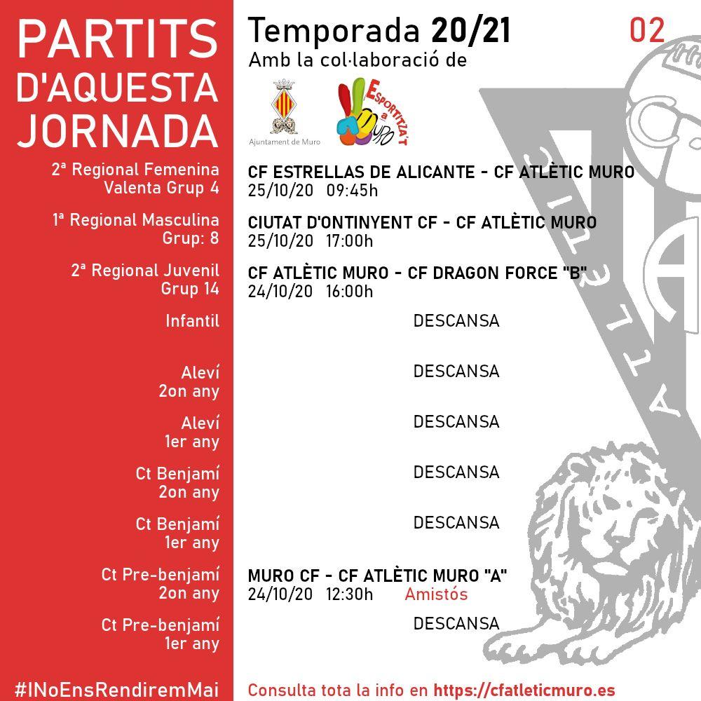 En este momento estás viendo Partidos ante el CF Estrellas de Alicante y el Ciudad de Onteniente CF
