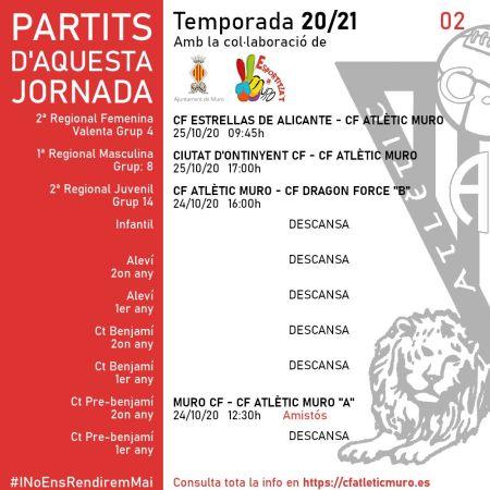 Lee más sobre el artículo Partidos ante el CF Estrellas de Alicante y el Ciudad de Onteniente CF