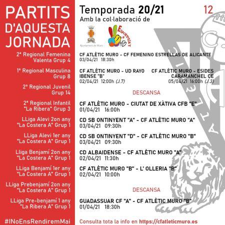 Lee más sobre el artículo Partidos ante el CF Femenino Estrellas de Alicante, la UD Rayo Ibense «B» y el Esides Caramanchel CE