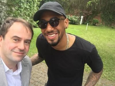 Christian Falk - SPORTBILD - privat | Italien lunch with Boateng