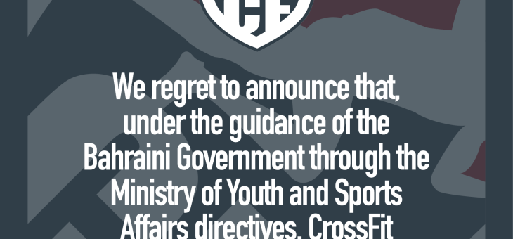 Temporary Closure by Directives of Ministry of Youth & Sports