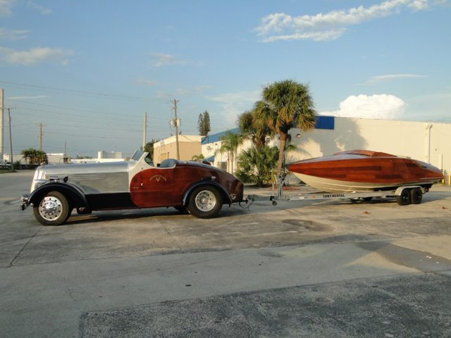 1950 Seagrave Firetruck Custom Car