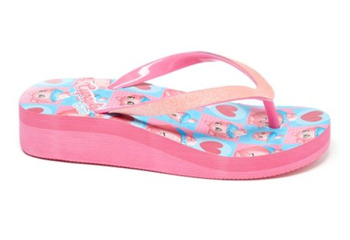 Shopkins Cupcake Chic Wedge Flip Flop Zulily
