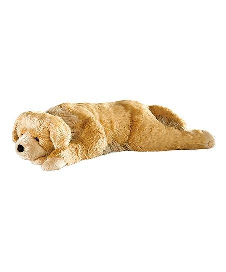 plow hearth golden retriever body pillow
