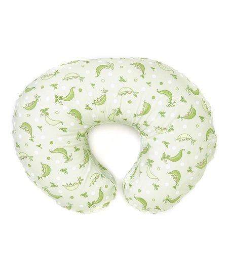 boppy green sweet pea feeding support pillow