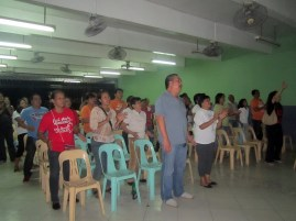Also part of the assembly in worship