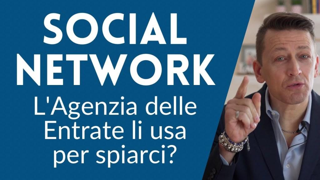Social Network, l'Agenzia delle Entrate li usa per spiarci?