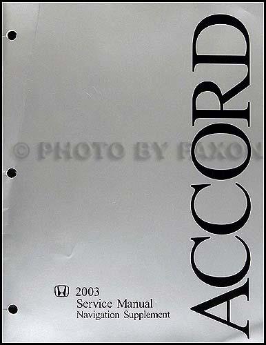 20032004 honda accord electrical troubleshooting manual