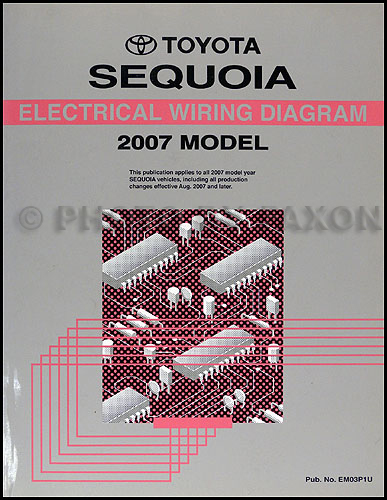 2007 toyota sequoia wiring diagram  wiring diagram load