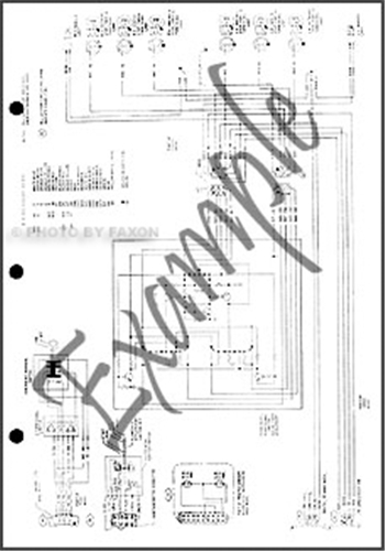 1968 mercury wiring diagram original marquis monterey montclair park lane