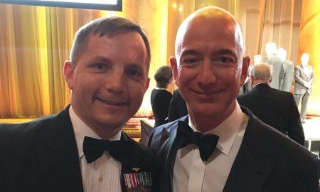 Todd Huber and Jeff Bezos