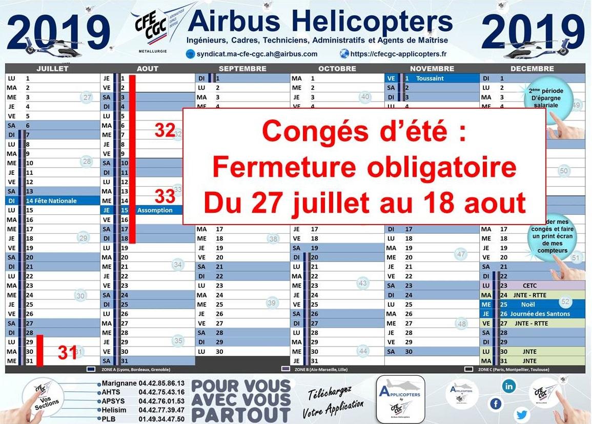 Conges D Ete 2019 Applicopters