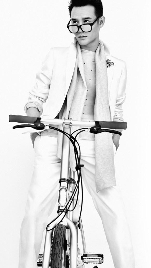 Wang Kai for Harper's Bazaar