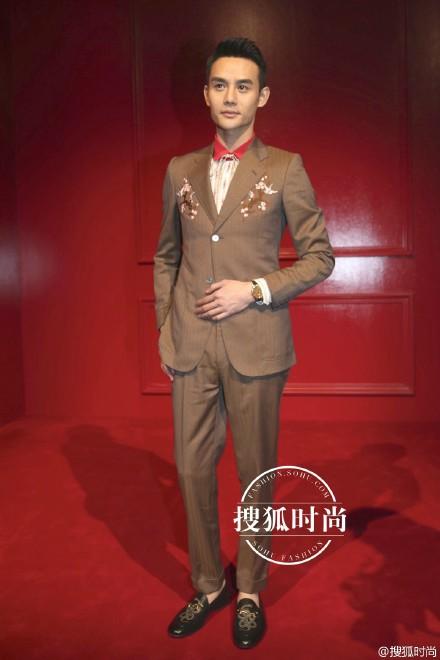 Wang Kai in Gucci.