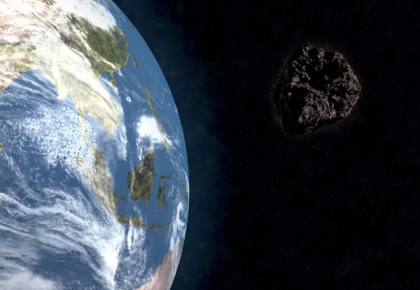 """Asteroid that blew past the Earth today was a """"near miss ..."""