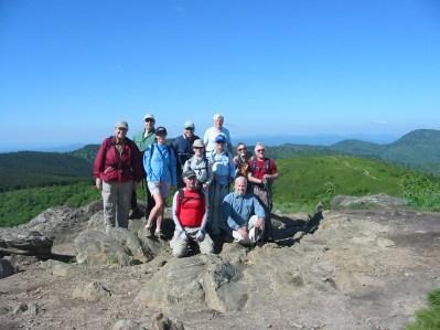 Shining Rock Hike