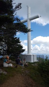 65' Cross on Mt. Lyn Lowry