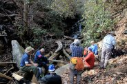 Lunch at Mill Creek Falls