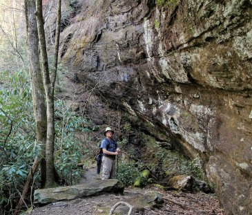 Bob on the East Fork trail