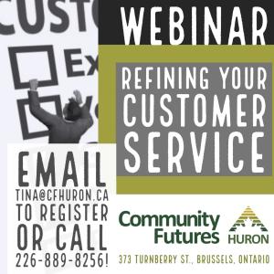 Refining Your Customer Service webinar @ Online