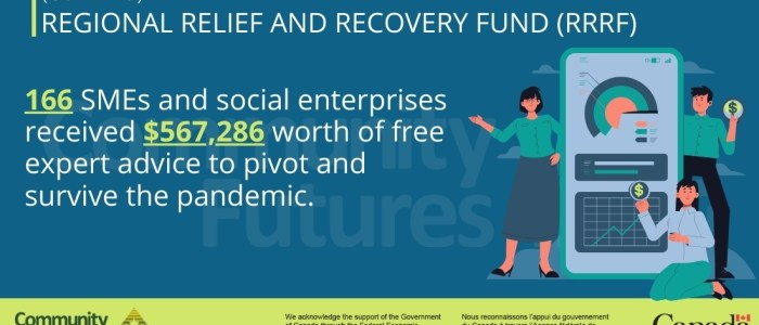 166 SMEs and social enterprises accessed business services funding