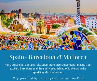 Spain Barcelona andMallorca