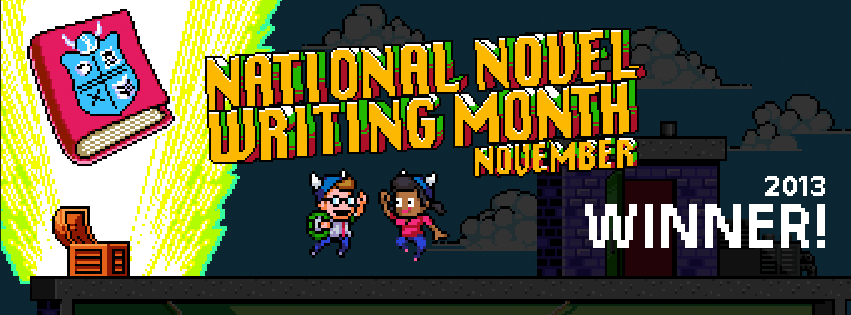 National Novel Writing Month 2013 Winner Graphic