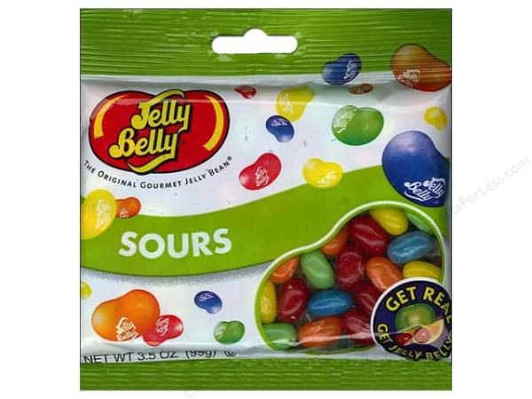 Jelly Belly Jelly Beans 35 oz Sours CreateForLess