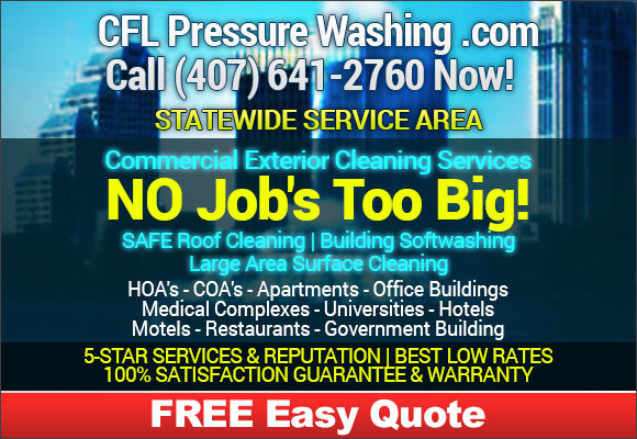 Commercial Florida Pressure Washing Services