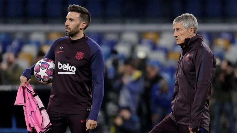 Las reprimendas de Eder Sarabia que «molestan» al vestuario del Barça
