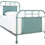 Jolene Vintage Blue Twin Bed Ivan Smith