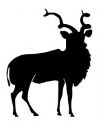 addax-antelope-silhouette