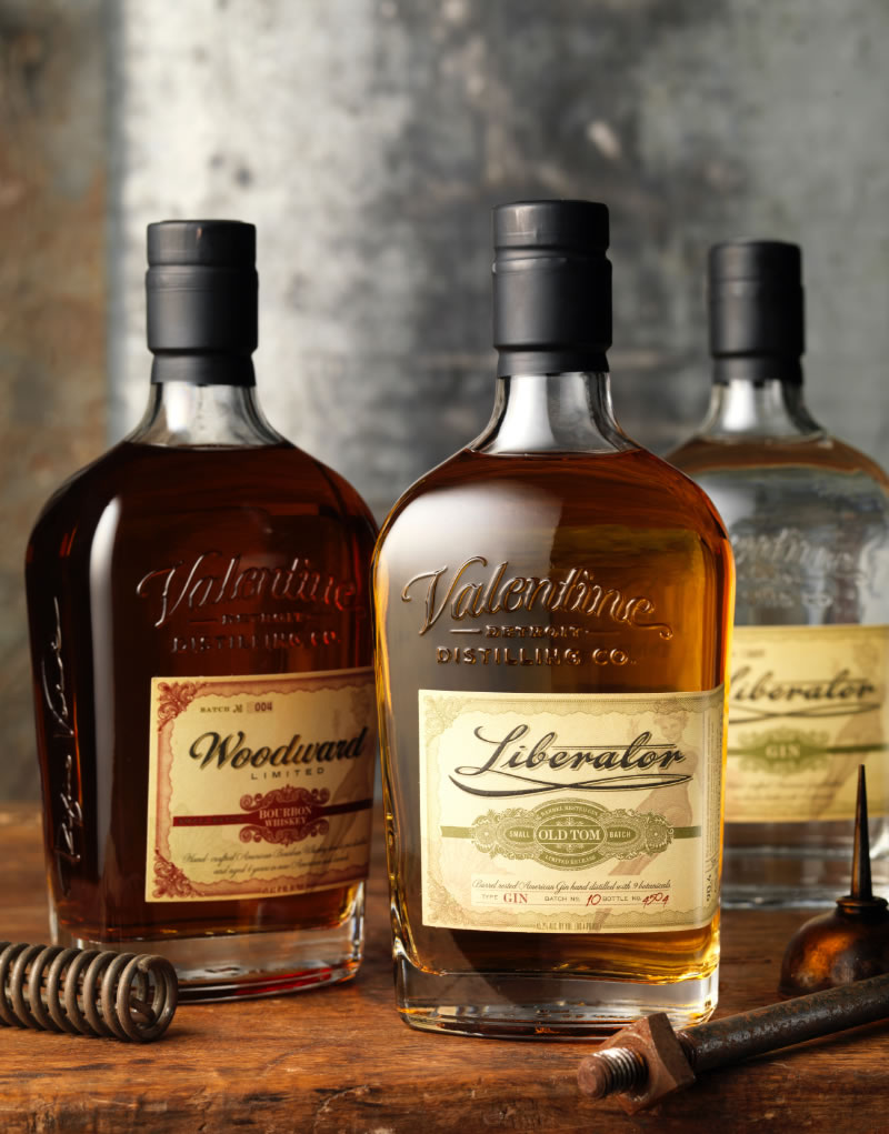 CF Napa Brand Design Woodward Bourbon Amp Liberator Gin