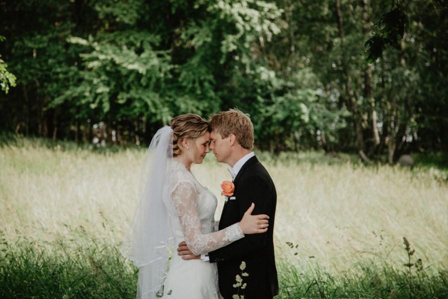 porträtt Jennie och davids bröllop i Kungsbacka bröllopsfotograf cattis Fletcher Cfoto Göteborg