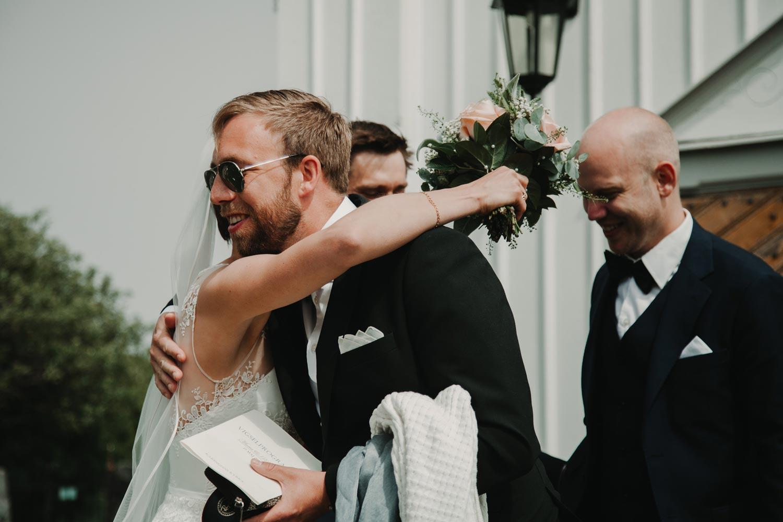 Bröllopsfotograf Käringön CFoto gratulationer Maria och Petter