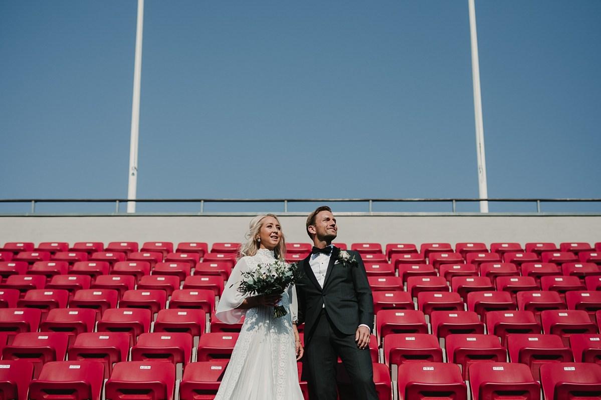 Bröllopspar i Båstad Bröllopsfotograf Skåne Wedding photographer Sweden wedding portraits