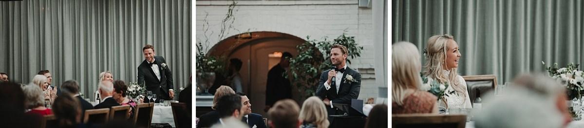 Brudgummens tal Norrviken Bröllopsfotograf