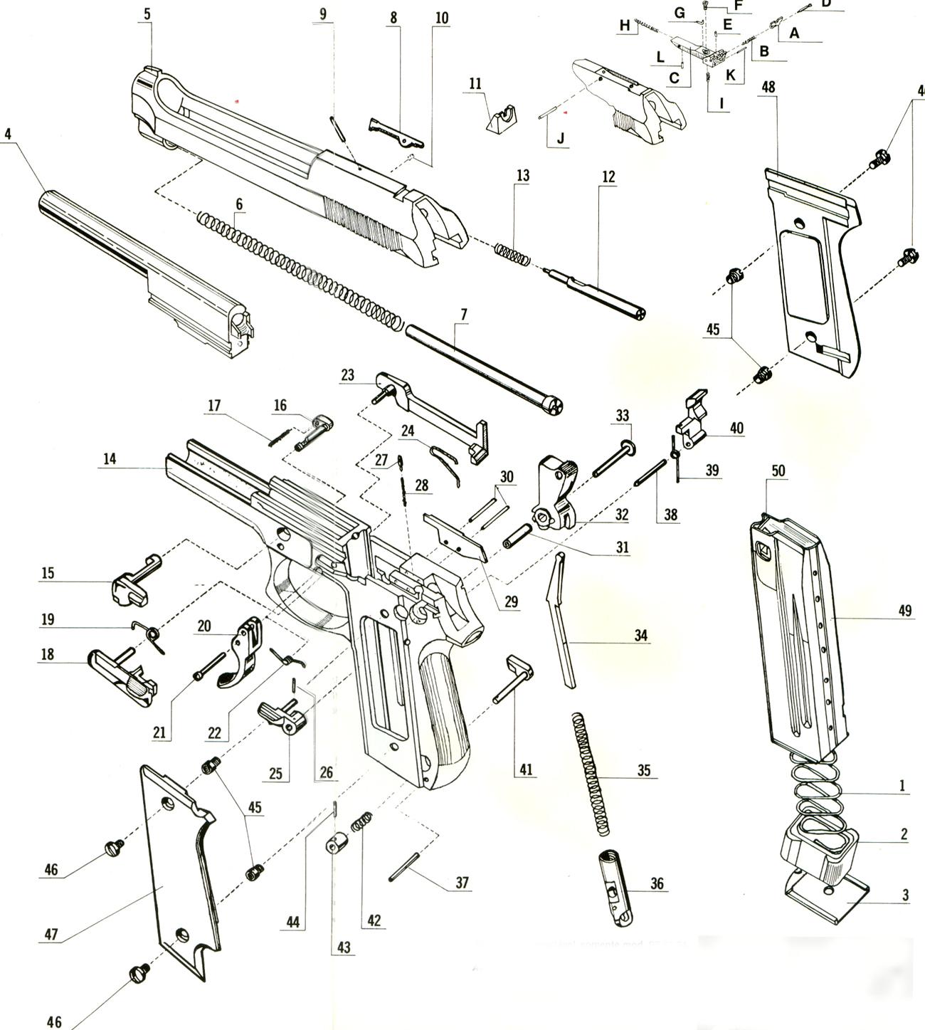 Beretta 7 65 Pistol