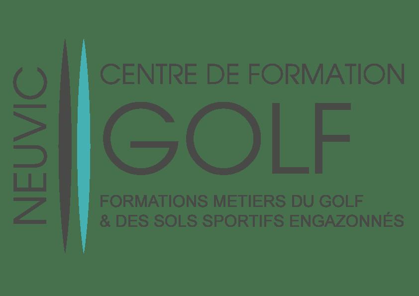 logo centre de formation metiers du golf
