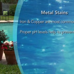 Preventing Metal Staining in Pools