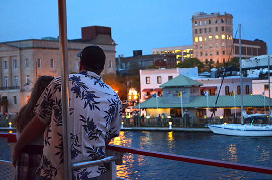 1-Hour Cape Fear River Sunset Cruise