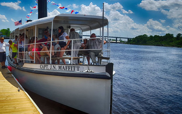 Girls' Night Out on the Cape Fear River