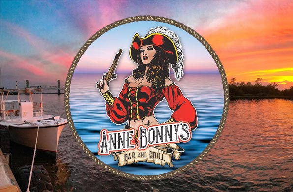 Enjoy Lunch by the Cape Fear River at Anne Bonny's Bar & Grill While the Weather's Warm